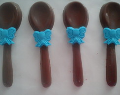 Colher de Chocolate decorada