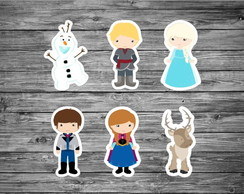 Aplique Frozen Cute 7 cm