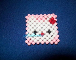 CHAVEIRO PLAQUINHA DA HELLO KITTY