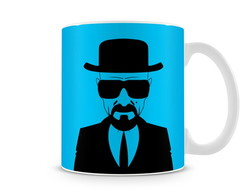 Caneca Breaking Bad Walter White Blue