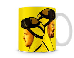 Caneca Breaking Bad Walter Jesse Yello