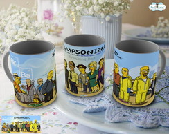 Caneca Breaking Bad Simpsonized