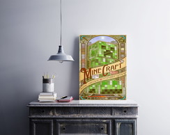 "Placa decorativa ""Minecraft"""
