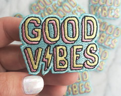 Good Vibes Patch Termocolante