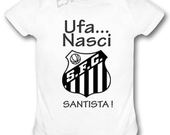 Body Personalizado do Santos