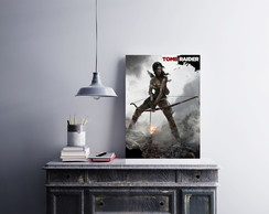 "Placa decorativa ""Tomb Raider"""
