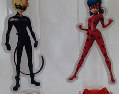 Tubetes Lady Bug e Cat Noir