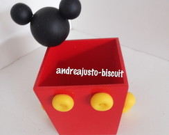 CACHEPO DO MICKEY BISCUIT 15X15
