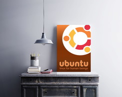 "Placa decorativa ""Ubuntu"""