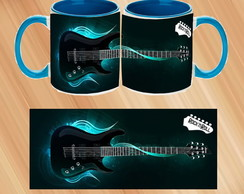Caneca Porcelana I LOVE ROCK in ROLL 2