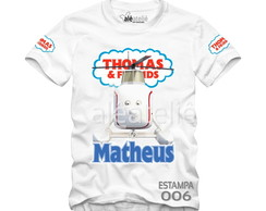 Camiseta Thomas and Friend Personalizada