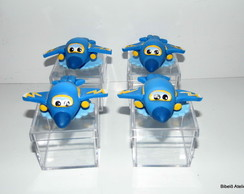 Super Wings lembrancinha Jeromi na cx
