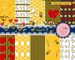 Kit Digital Happy Bee