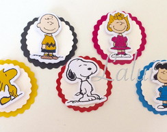 Aplique scrap - Snoopy