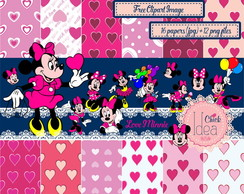Kit Digital Love Minnie
