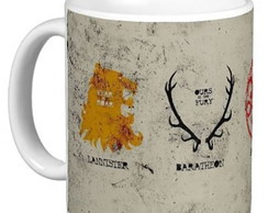 Caneca Serie The Game Of Thrones