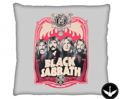 Almofada Black Sabbath banda rock
