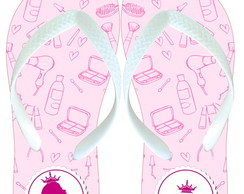 Chinelo personalizado spa