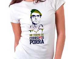 Camiseta Feminina Do Bolsonaro