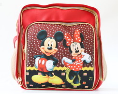 MOCHILA BABY MINNIE E MICKEY