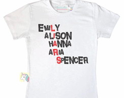 T-Shirt feminina pretty little liars
