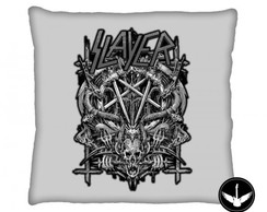 Almofada Slayer banda rock