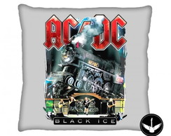 Almofada AC/DC Black Ice banda rock