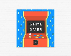 Quadrinho 15x15 Game Over
