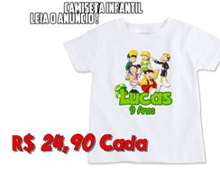 Camiseta Infantil Turma do Chaves