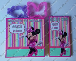 Kit Colorir com Massinha Minnie