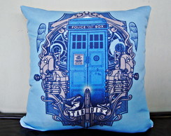 Almofada Decorativa series cinema Dr Who / Tardis