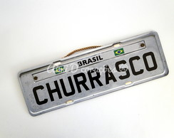 Placa Churrasco
