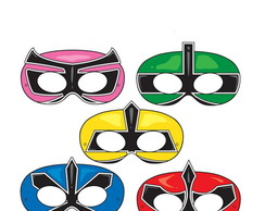 Máscaras Power Ranger Samurai