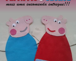 Fantoches Peppa Pig e George