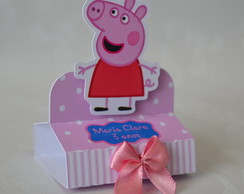 Porta chocolate duplo 3D Peppa Pig