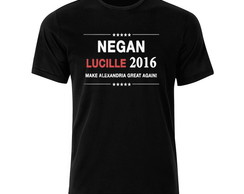 Camisa The Walking Dead Negan Lucille