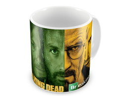 "Caneca ""Breaking Bad / The Walking Dead"""
