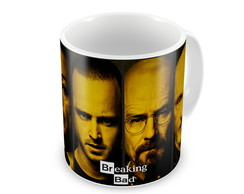 Caneca Breaking Bad - Rostos