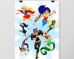 Quadro Super Hero Girls