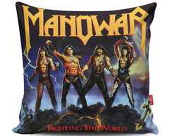 Almofada Manowar - Fighting the World