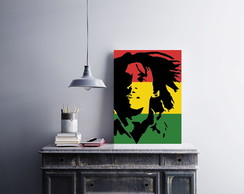 "Placa decorativa ""Bob Marley"""