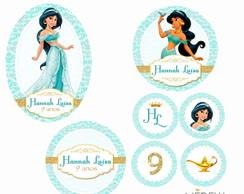 Kit Digital Princesa Jasmine