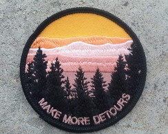Make more detours Patch Termocolante