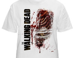 Camiseta Walking Dead Branca