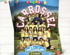 Revista Colorir Carrossel