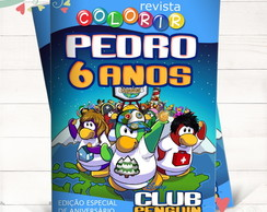 Revista Colorir Club Penguin