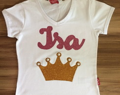 Camiseta Infantil Customizada