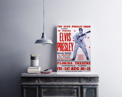 "Placa decorativa ""The Elvis Presle.y"""