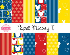 Kit Papel Digital - Mickey I