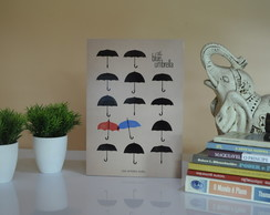 Quadro The Blue Umbrella